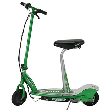 Razor® E200S Electric Scooter -- Green