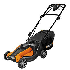 "WORX 14"" Push Lawn Mower w/ IntelliCut 24V"