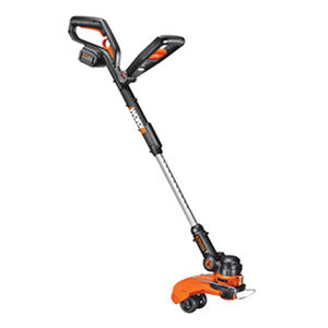 "WORX 12"" 32V Li-Ion Cordless Grass Trimmer/Edger - 3 Hour Charger"