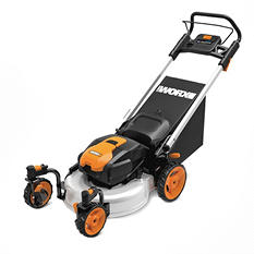 "WORX 19"" Mower with Intellicut 56V Max Li-Ion"