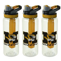 NCAA Licensed 32 oz Tumblers with Freezer Stick - 3-Pack