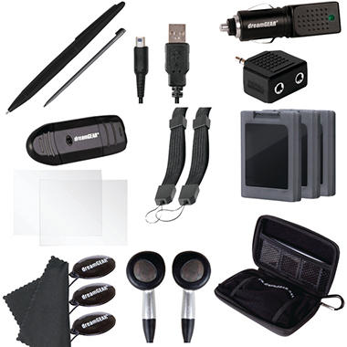 Dreamgear 20 in 1 Essentials Kit for the 3DS XL