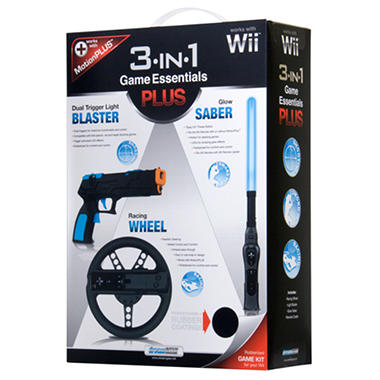 3-in-1 Game Essentials Plus - Wii