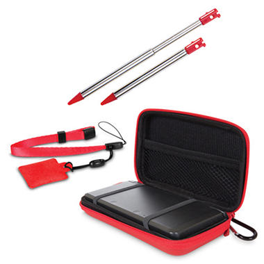 Dreamgear Red 4-in-1 Case Pack for the 3DS