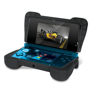 Dreamgear Black Comfort Grip for the 3DS