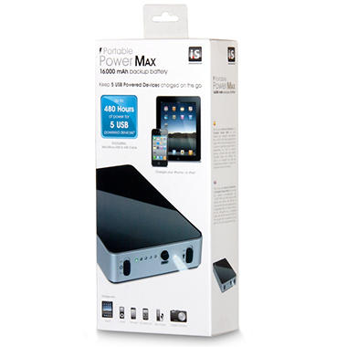 Portable Power Max 16,000 mAh