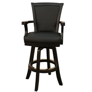 Chesterfield Black Bar Stool