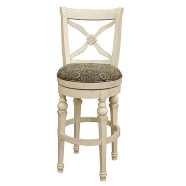 Hemingway Bar Stool Antique White