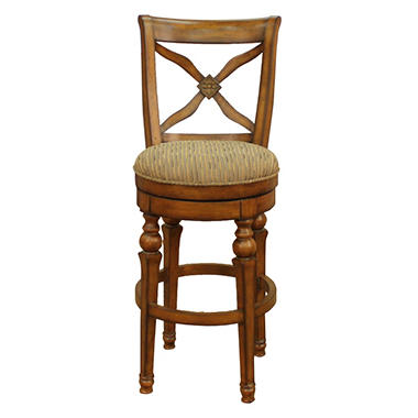 Hemingway Bar Stool Antique Chestnut