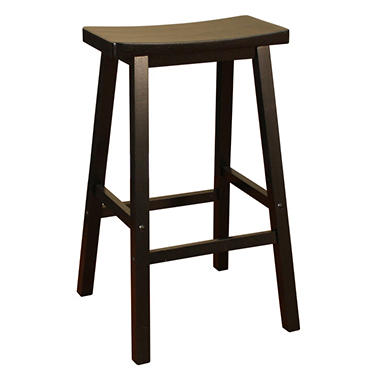 Cody Black Counter Stool