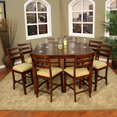 Plaza I Counter Height Dining Set - 9 pc.
