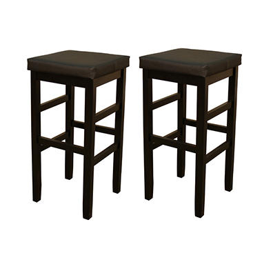Connor 30 Quot Bar Height Stool Set Of 2 Sam S Club