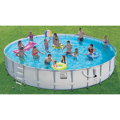24 ft. ProSeries™ Frame Pool Set with Mosaic Print, Original Price $699.00
