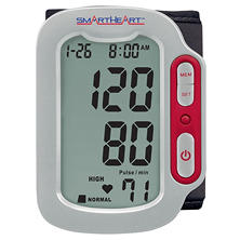 SmartHeart Automatic Digital Blood Pressure Wrist Monitor