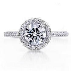 1.74 ct. t.w. Premier Diamond Collection Round & Pave Diamond Ring (I, VS1)