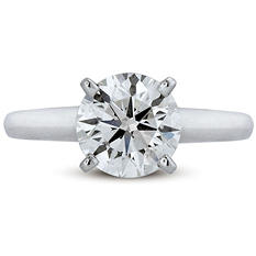 2.15 ct. Premier Diamond Collection Round Diamond Solitaire Ring (I, SI2)