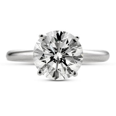 3.03 ct. Premier Diamond Collection Round Diamond Solitaire Ring (I, SI1)