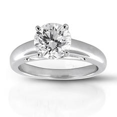 2.02 ct. Premier Diamond Collection Round Diamond Solitaire Ring (F-G, SI1, SI2)
