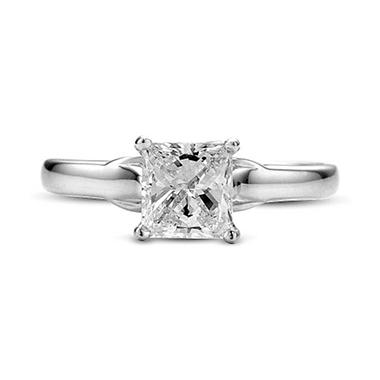 1.05 ct. t.w. Premier Diamond Collection Princess Diamond Solitaire Ring (G,SI2)
