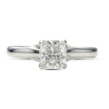 1.12 ct. Premier Diamond Collection Cushion Diamond Solitaire Ring (G, SI1)