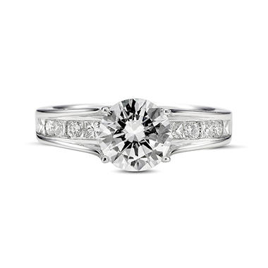 2.15 ct. t.w. Premier Diamond Collection Round Channel Set Diamond Ring in 14k White Gold (G, SI1)