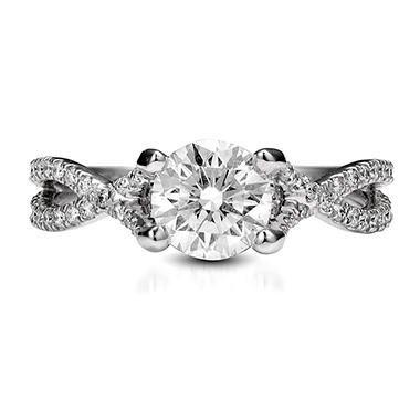 1.32 ct. t.w. Premier Diamond Collection Round & Pave Bow Tie Diamond Ring (G, SI1)