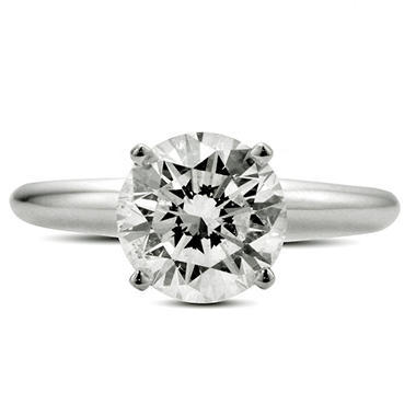 1.00 ct. Premier Diamond Collection Round Diamond Solitaire Ring (G, I1)
