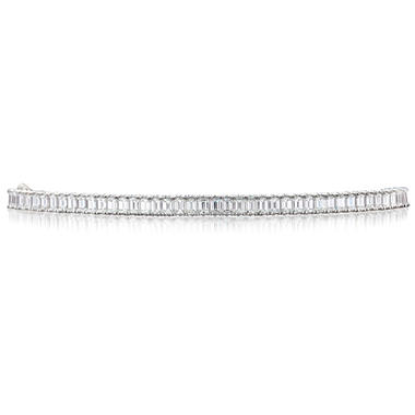 30.01 ct. t.w. Premier Diamond Collection Emerald Cut Diamond Bracelet (F-G, VVS2-VS1)