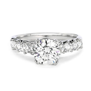 Premier Diamond Collection 2.34 ct. t.w. Round Diamond Ring in 18K White Gold (G, VS1)