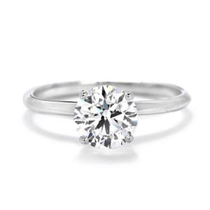 Premier Diamond Collection 1.51 ct. Solitaire Diamond Ring in 14K White Gold (E, SI1)