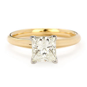 Premier Diamond Collection 1.52 ct. Solitaire Diamond Ring in 14K Yellow Gold with Platinum Head (I, SI1)
