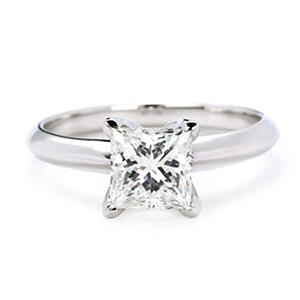Premier Diamond Collection 1.51 ct. Solitaire Diamond Ring in 18K White Gold (G, SI1)