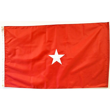 Army 1 Star General 3' x 5' Nylon Outdoor Flag