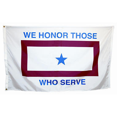 Military Service 3' x 5' Nylon Outdoor Flag