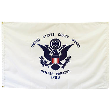 Coast Guard 3' x 5' Nylon Outdoor Flag