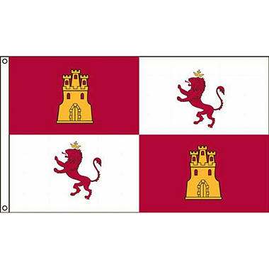 Lion Castles 3'X5' Nylon Flag