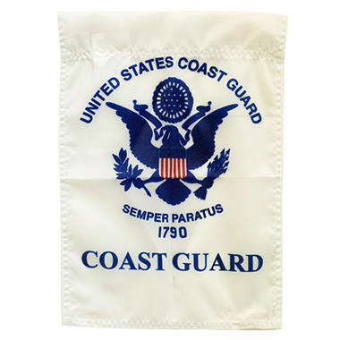 "Coast Guard 12"" x 18"" Garden Flag"