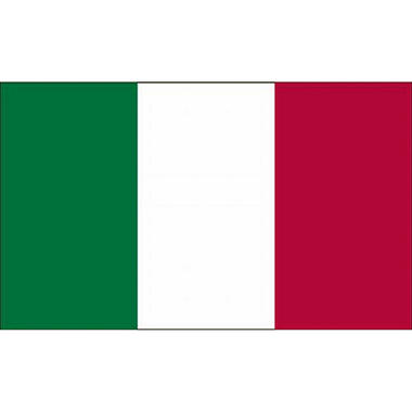 Italy 3'X5' Nylon Flag