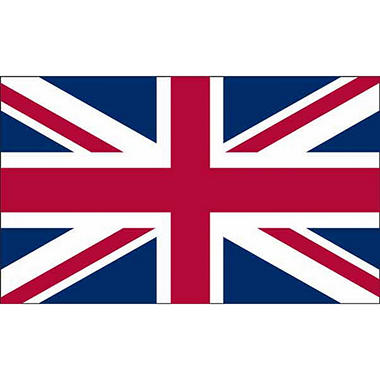 UK 3'X5' Nylon Flag