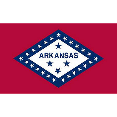 Arkansas 3' x 5' Nylon Flag