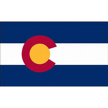Colorado 3' x 5' Nylon Flag