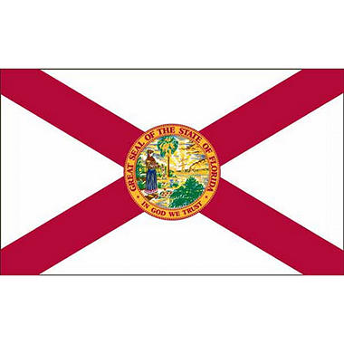 Florida 3' x 5' Nylon Flag