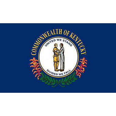 Kentucky 3' x 5' Nylon Flag