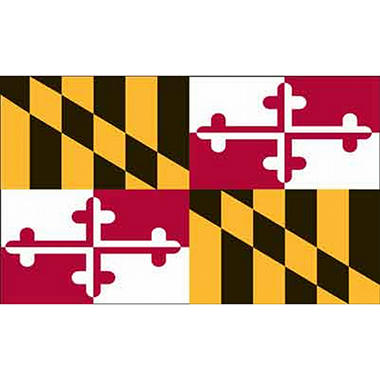 Maryland 3' x 5' Nylon Flag
