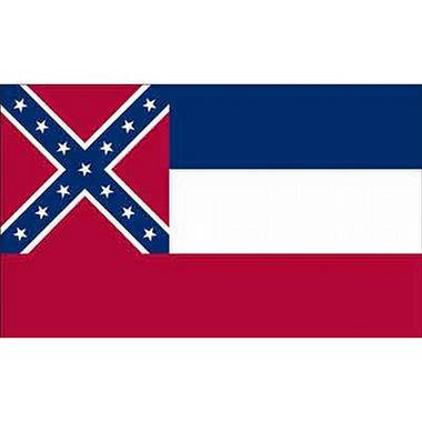 Mississippi 3' x 5' Nylon Flag