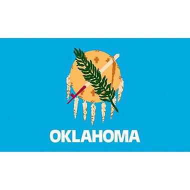Oklahoma 3' x 5' Nylon Flag