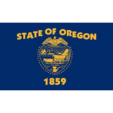 Oregon 3' x 5' Nylon Flag