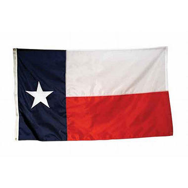 Texas 3' x 5' Nylon Flag