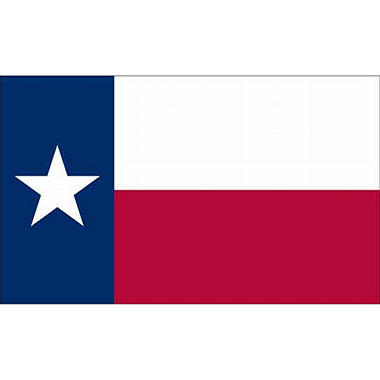 Texas 5' x 8' Rip Guard Flag