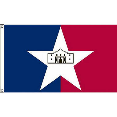 San Antonio 3'X5' Nylon Flag